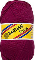 Пряжа для ручного вязания Kartopu Flora (акрил) слива