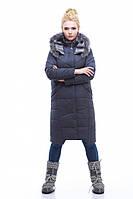 Зимнее модное пальто Дакота енот, разные цвета р 44-56
