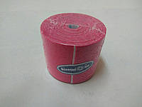 Бинт эластичный малой растяжимости адгезивный 5 см х 5 м, розовый  Кинезио тейп / Белоснежка, фото 1