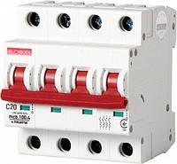 Модульный автоматический выключатель E.NEXT e.industrial.mcb. - 4 р, 20А, C, 10кА