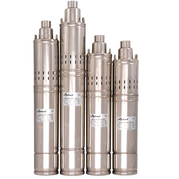 Погружной глубинный насос для скважин шнековый  4SQGD 1.8-50-0.5 Sprut