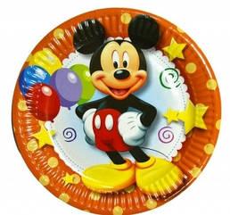 """Набор тарелок 10 штук """"Микки Маус"""" размер 180 мм"""