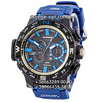 Часы Casio G-Shock GWG-1000 blue/black/blue