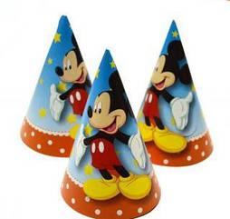 """Колпак праздничный 20 см,""""Микки Маус"""""""