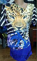 Блуза  футболка 52р