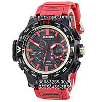 Часы Casio G-Shock GWG-1000 red/black/red