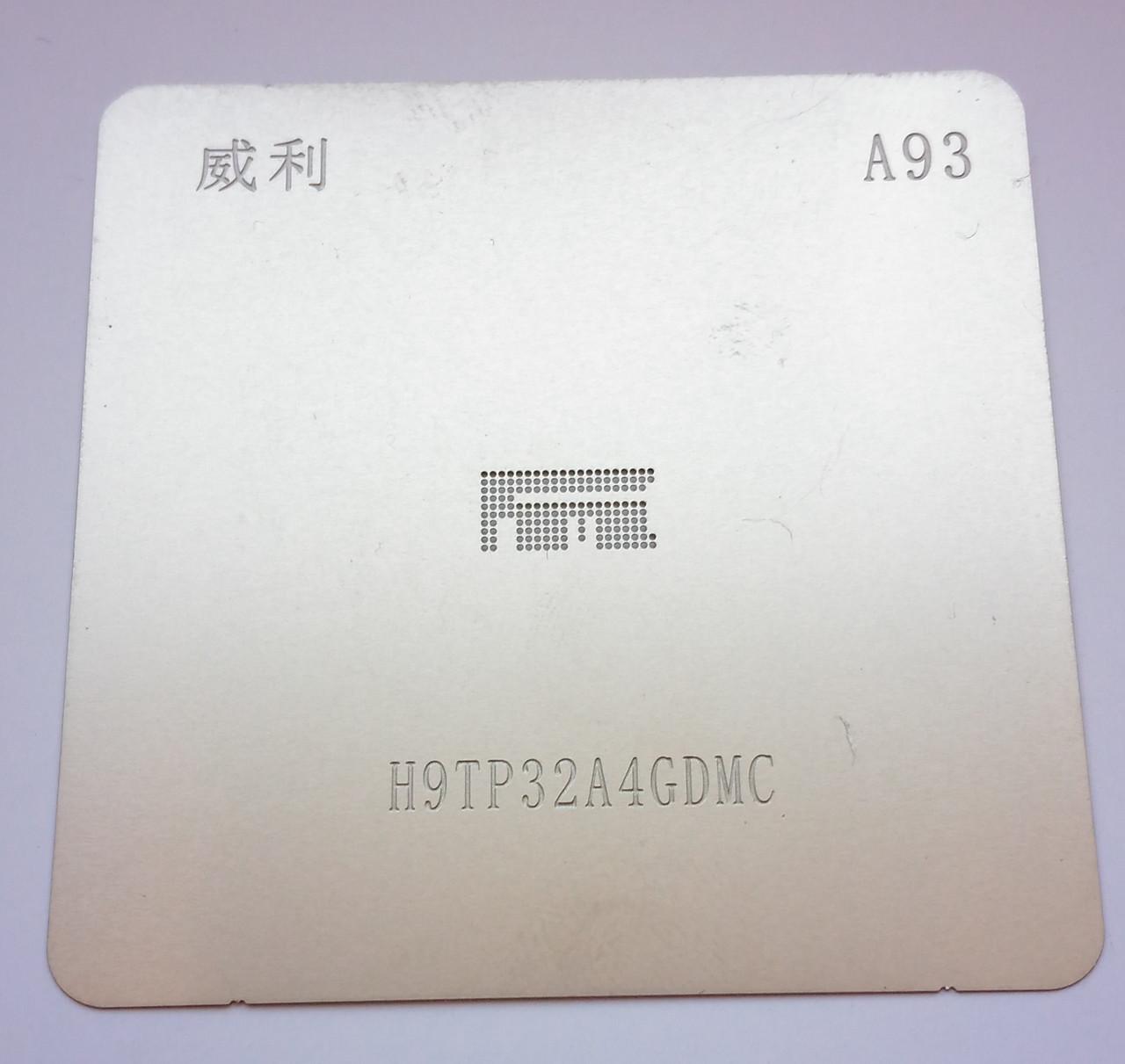 Трафарет флэш-памяти eMMC H9TP32A4GDMC BGA 162