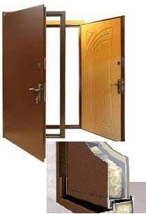 Двери входные в частный дом 86 ширина 2,05 высота
