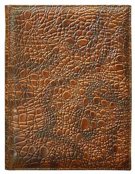 Папка на подпись Крокодил (кожа)