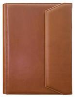 Папка деловая Конференц (с пятью отделениями для бумаг) (кожа)