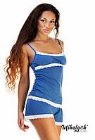 """Женская пижама """" Майка и шорты """" Dress Code, фото 1"""