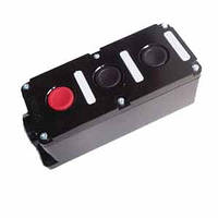 Пост кнопочный ПК722-3  10A  230/400B  (корпус карболит, 1 красная, 2 чёрных)