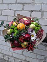 Веган- букет(микс фруктов и цветов)