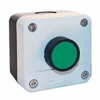 Кнопка ПУСК в корпусе зелёная