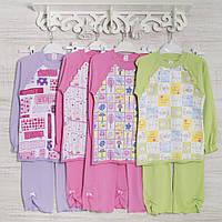 Детские пижамы для девочек 5_6_7лет,  хлопок-интерлок, в наличии 116,122,128 Рост
