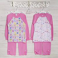 Детские пижамы для девочек 110_116_см,  хлопок-интерлок, в наличии 116,122,128 Рост