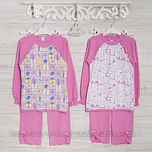 Детские пижамы для девочек 110_116_см, 2207инк хлопок-интерлок, в наличии 116,122,128 Рост, фото 2