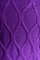 Женский вязаный кардиган (р. SML) арт. Мэри фиолет, фото 3