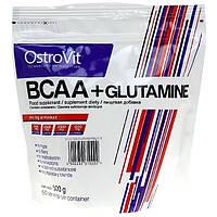 Аминокислоты BCAA + Glutamine (0.500 грм) Ostrovit