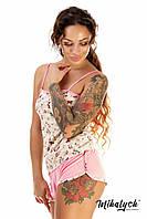 "Женская пижама "" Цветы "" Dress Code, фото 1"