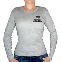 """Женская футболка """"Гладить нежно"""""""