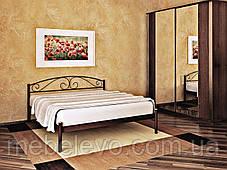 Кровать Верона  односпальная 80  Метакам, фото 3