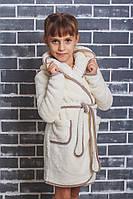 Детский махровый халат на запах