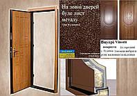ДВЕРИ ВХОДНЫЕ в частный дом 96 ширина 2,05 висота, фото 1
