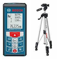 """✅ Лазерный дальномер """"Bosch GLM 80 + BS150"""""""