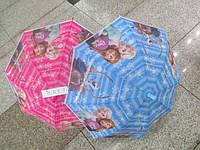 Зонт Frozen D15917 2 вида, матов. клеенка, в пакете 45см.