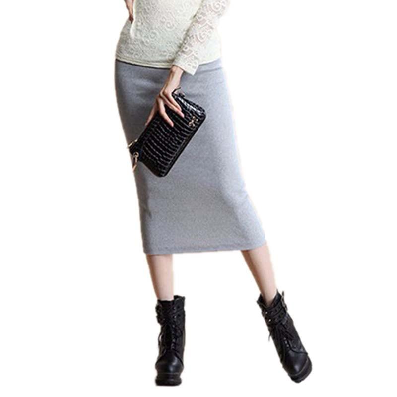 юбка-резинка карандаш фото
