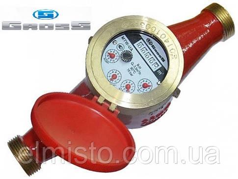Лічильник GROSS MTW-UA Dn32, L=260мм, Qn=6,0 м3/год багатоструменевий на гарячу воду
