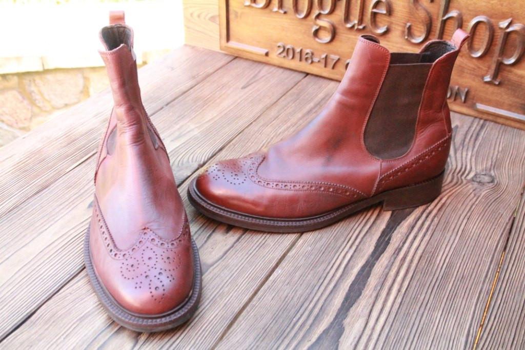 Стильные мужские ботинки челси Kami, 25.5 см, 40 размер. Код: 120.