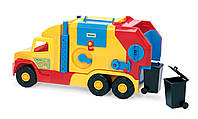 Машинка Мусоровоз малый серия «Super Truck» Wader, 36580, Вадер