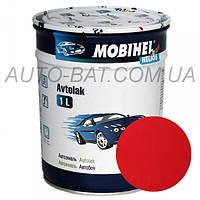 Автоэмаль однокомпонентная автокраска алкидная 110 Рубин Mobihel, 1 л