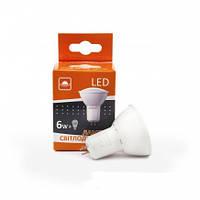 Лампа светодиодная Евросвет G-6-4200-GU10