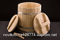Кадка конусная дубовая 80 литров