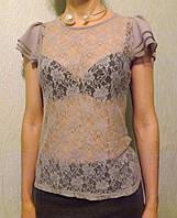 Гипюровая блуза  Et Vous