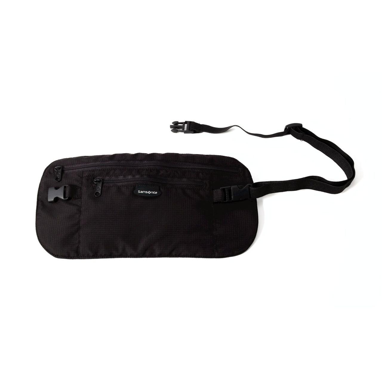 Секретная сумка на пояс Samsonite Security, черная