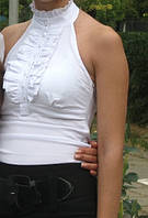 Женская блуза белая