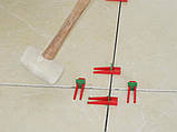 Система вирівнювання плитки (клин 100 шт.), фото 6
