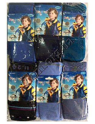 """Колготки махровые для мальчиков """"Золото"""" 92-164 см. Оптом А 827"""