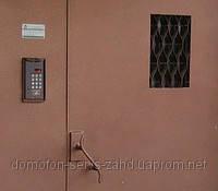 Двері вхідні електромагнітні з домофоном