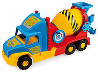 Машинка Бетономешалка малая серия «Super Truck» Wader, 36590, Вадер