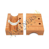 AZ45586 Підшипник деревяний для вала соломотряса 38мм комбайна John Deere Джон дир Запчасти
