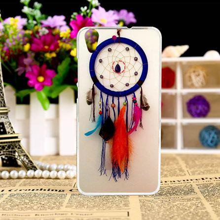Силиконовый чехол бампер для Huawei Y6 II с рисунком Ловец снов
