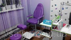 Педикюрне крісло зі стільцем майстра