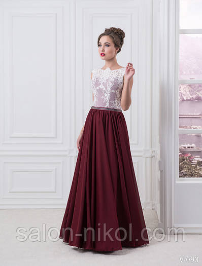 Вечернее, выпускное платье V-093