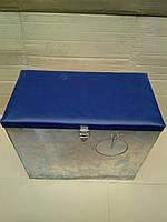 Ящик зимний Оцинкованный с окошком (д*ш*в 38*21*33 см)