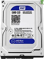 HDD SATA  500GB WD Blue 5400rpm 64МB (WD5000AZRZ )